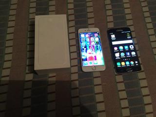 V/c iPhone 6 64g Esteica De 10 Y Samsung Galaxy S6 Edge
