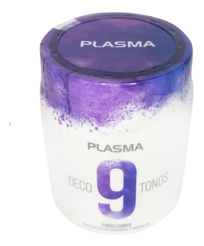Polvo Decolorante Plasma Tonalizador Aclara 9 Tonos 500grs