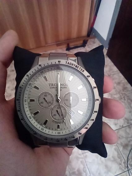 Relógio Technos Cronógrafo Titanium