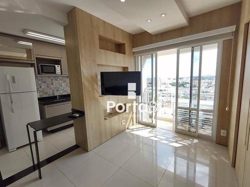 Apto Mobiliado De 1 Dormitório Para Alugar, 43 M² Por R$ 1.800/mês - Bom Jardim - São José Do Rio Preto/sp, Próx. Hb E Faceres. - Ap7767
