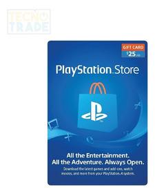Playstation Store Tarjeta De Regalo $13 - $23 - $28