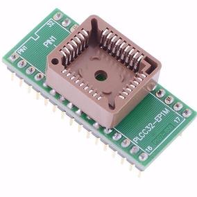 Adaptador Plcc32 Para Dip32 Tl 866 G540 Tnm5000