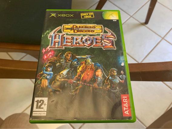 Dungeons Dragons Heroes Xbox Clássico Raro