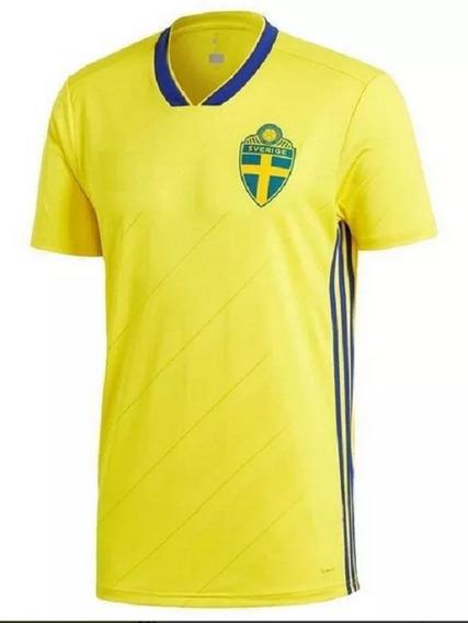 Camiseta Selección Suecia (titular Mundial 2018)