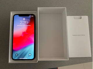 iPhone X Desbloqueado 64gb Silver Garantia Apple