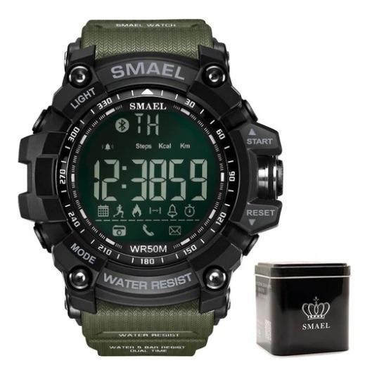 Relógio Smael® Bluetooth Led - Android/ios - Frete Grátis