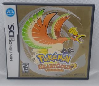 Pokemon Heartgold Original Nintendo Ds Incluye Caja