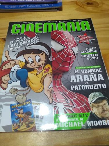 Revista Cinemanía #3 - Julio 2004 - Spiderman - U