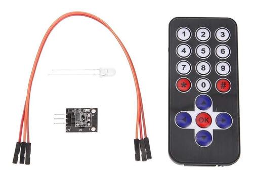 Kit De Control Remoto Y Receptor Ir Arduino Pic Avr Robot