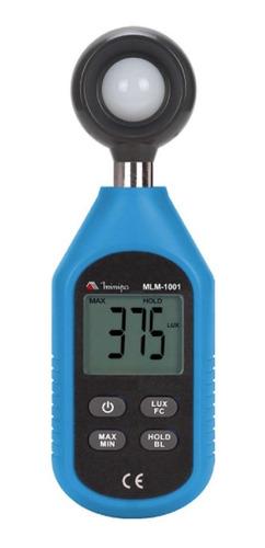 Imagem 1 de 2 de Luximetro Digital Minipa - Mlm-1001 - Com Certificado