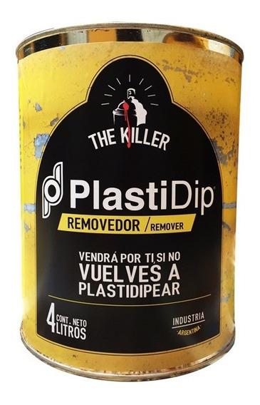 Removedor De Pintura Removible Plastidip The Killer 4 Lts