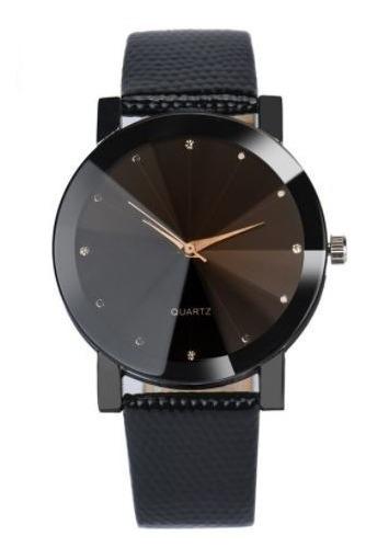 Relógio De Pulso Feminino Analógico Pulseira De Couro Luxo