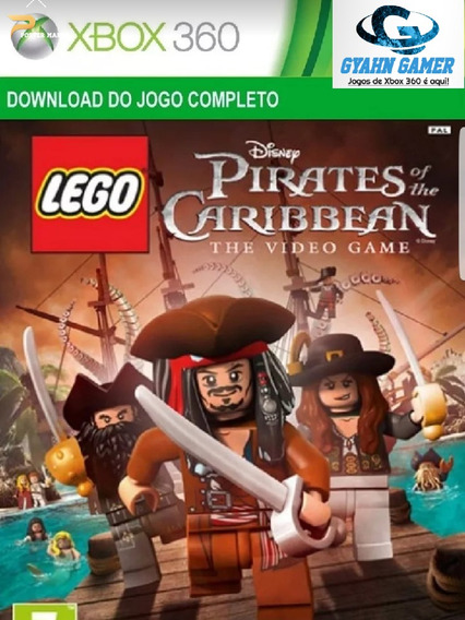 Lego-pirates Of The Caribbean, Midia Digital/ Xbox360