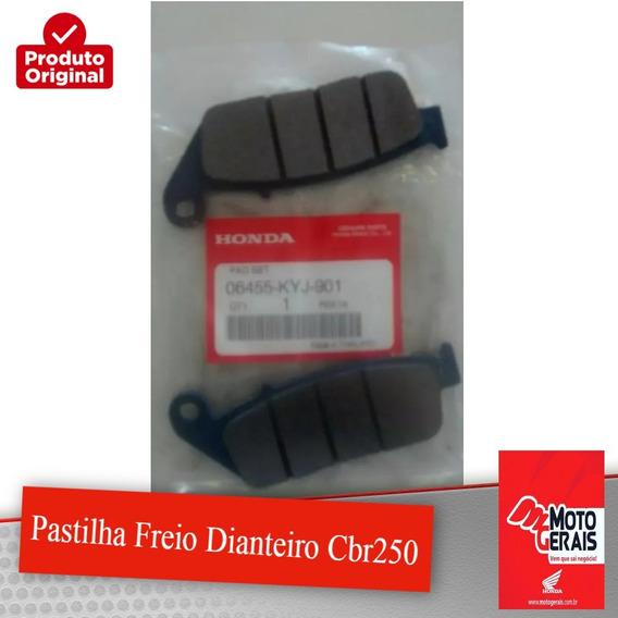 Jg Pastilha Freio Dianteiro Cbr250-original Honda-2012