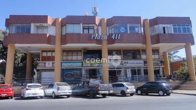 2 Salas Comerciais Para Aluguel, Asa Norte, Brasília/df, Scln 411, Ed. Plaza 411, Localização Privilegiada, Excelente Preço - Ap1643