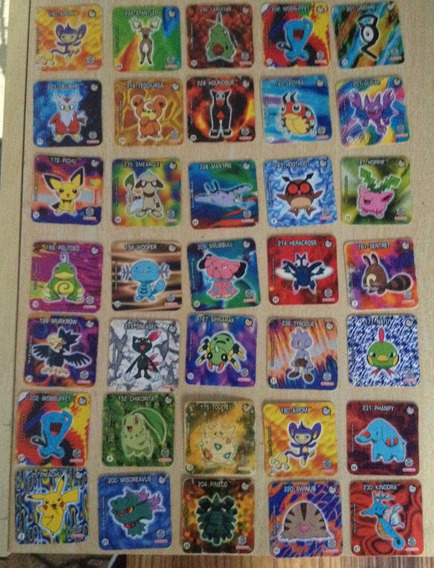 Tazos/cards Pokémon E Outras Coleções 32 Cards