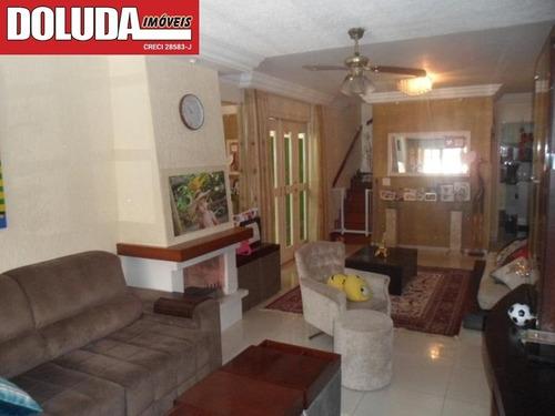 03 Dormitórios (01 Suíte); 02 Vagas, 03 Banheiros, 01 Lavabo, Dependência De Empregada. - So00293 - 69385785