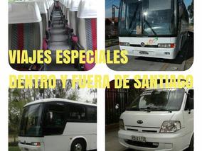 Viajes Especiales Arriendo Van / Bus/ Matrimonio Funeral