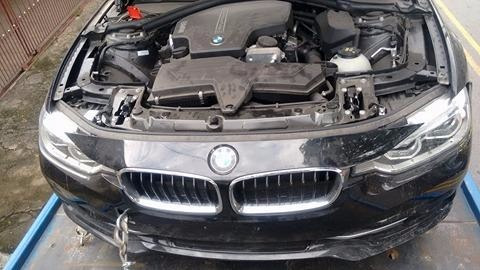 Bmw 320i 2016 Carro Batido Sucata - Auto Parts Abc