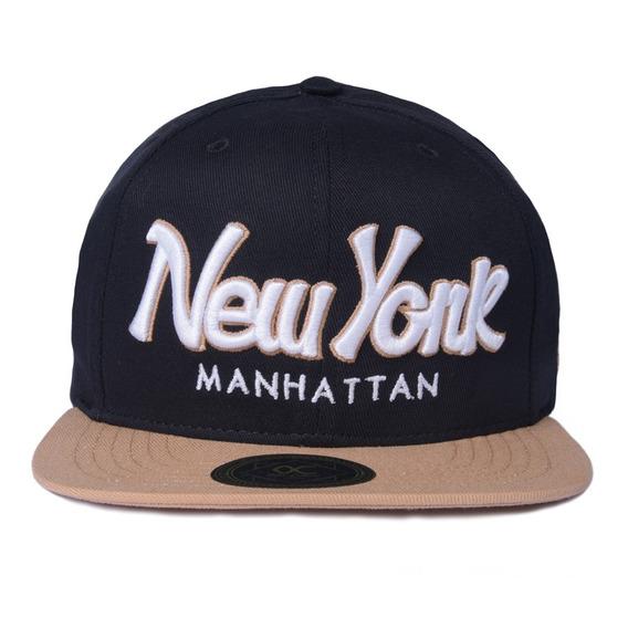 Boné Other Culture Snapback New York Preto Original