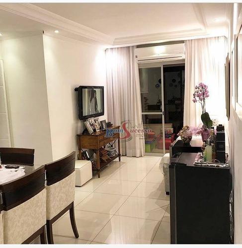 Apartamento Com 3 Dormitórios À Venda, 81 M² Por R$ 550.000,00 - Vila Formosa - São Paulo/sp - Ap2968