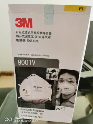 Respirador Contra Partículas 3m 9001v