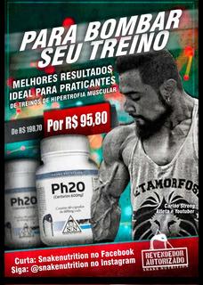 Ganha Massa Muscular Com Definição - Combo Ph20 + Phen600