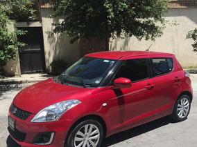 Suzuki Swift Gls 2014 Automatico Rojo En Excelente Condición