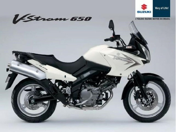 Suzuki Vstrom 650 2011 C/ Acessórios