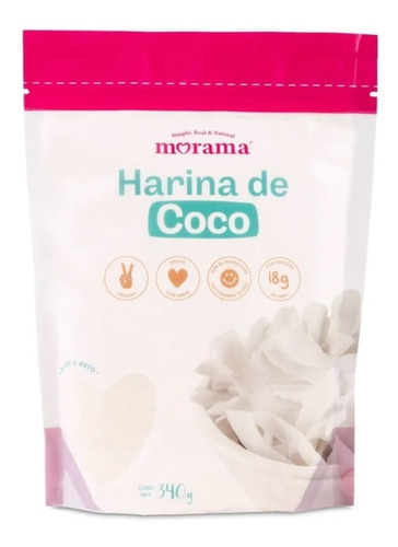 Harina De Coco Natural Sin Gluten-vegana Dieta Keto-fralugio