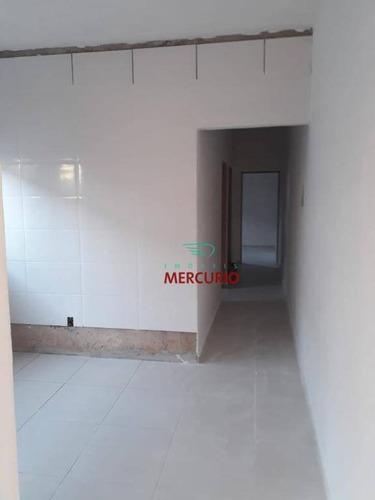 Casa Com 2 Dormitórios À Venda, 50 M² Por R$ 165.000,00 - Parque Jaraguá - Bauru/sp - Ca2793