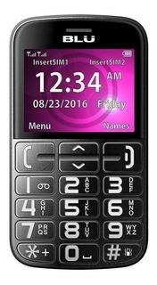 BLU Joy Dual SIM 32 MB Negro/Plata 24 MB RAM