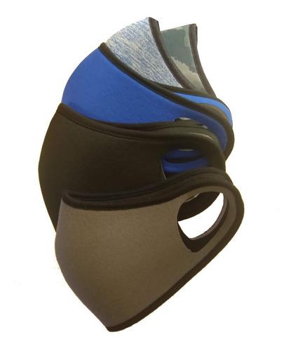 Máscara Tapaboca Tipo Barbijo Muy Comoda De Neoprene Lavable