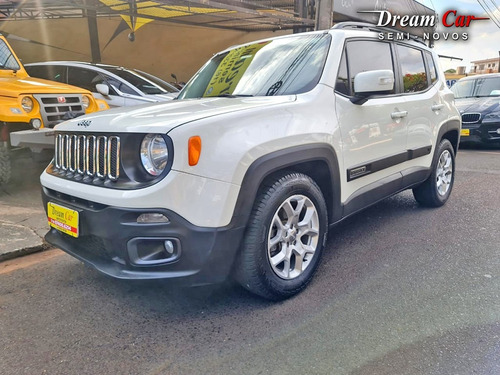 Jeep Renegade Longitude 1.8 Branco 2016