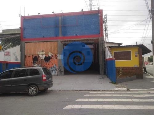 Imagem 1 de 4 de Galpão / Depósito / Armazém Na Vila Albertina  -  São Paulo - 3422
