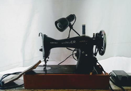 Máquina De Costura Singer Antiga 1936  Funcionando