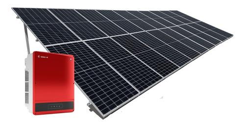 Imagen 1 de 5 de Kit 24 Paneles Solares 450w Completo - 2880kwh Bimestral