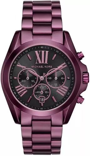 Relógio Xp432 Michael Kors Bradshaw Cronógrafo Mk6398/4pn Cx