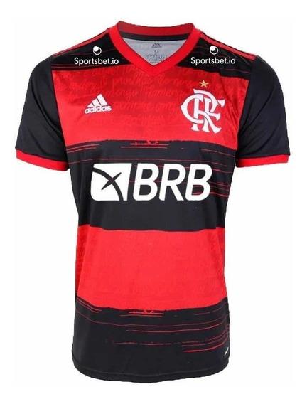 Camisa Flamengo 2020 Patrocínio Banco Brb Patch Libertadores
