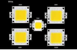 Chip Led De Potencia 10w, 20w, 30w, 50w, 100w (white)