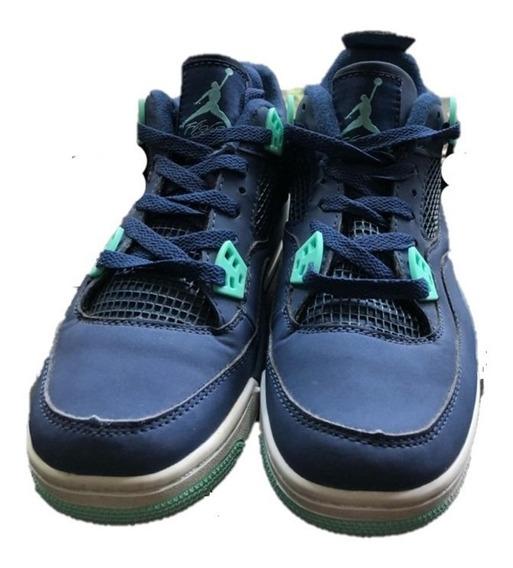 Tenis Jordan 4 Retro Blue