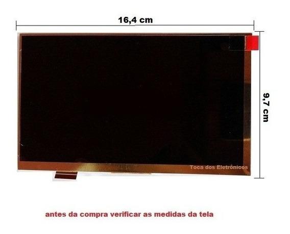 Display Lcd Tela Tablet Dl Kids C10 Tx394bbv Tx394 7 Polegad