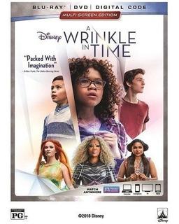 Blu-ray + Dvd A Wrinkle In Time / Un Viaje En El Tiempo
