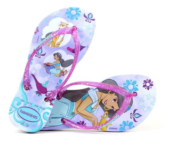 Chinelo Havaianas Infantil Original Slim Princess