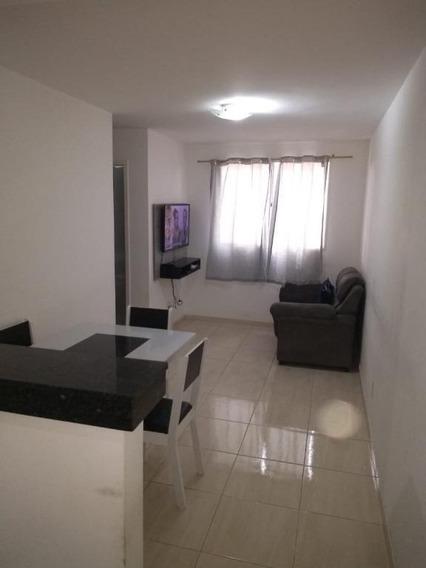 Apartamento Em Jardim Califórnia, Jacareí/sp De 46m² 2 Quartos À Venda Por R$ 140.000,00 - Ap366177