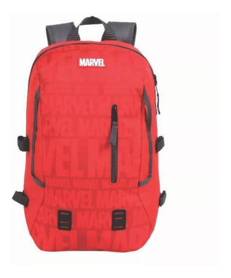 Mochila Sport Grande Marvel Vermelha #49172 - Dmw