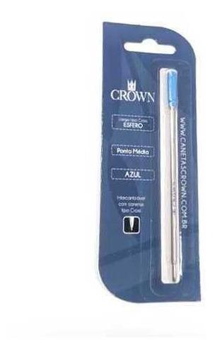 Carga Esferografica Cs Blister Crown Ca12009a