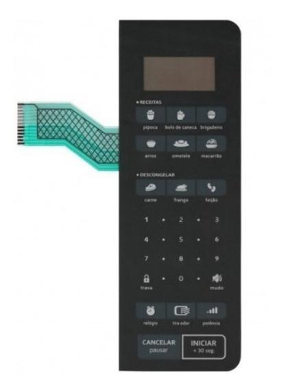 Membrana Para Microondas Espelhada Cms45ar
