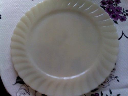 Prato Redondo Para Salada Anos 80