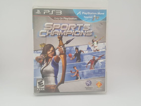 Jogo Ps3 Sports Champions Mídia Física